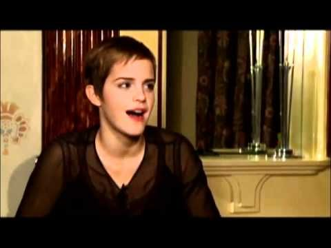 Harry potter cast trying to speak in American accents. Hahaha. this is hilarious!