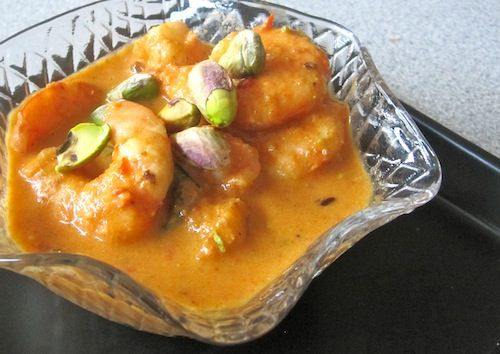 Red Pepper and Pistachio Curried Shrimp | Fresh from the Sea | Pinter ...
