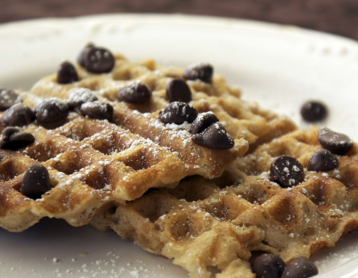 Peanut Butter Waffle Toast ~ | Breakfasts | Pinterest