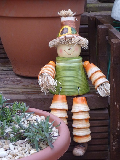 Flower Pot People No pattern just inspiration Featured on growsonyou.com#Repin By:Pinterest++ for iPad#