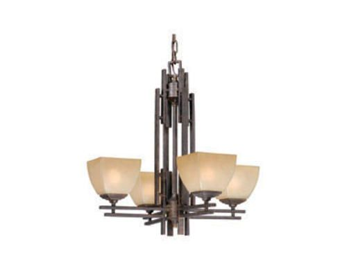 4 Light Mission Chandelier For the Home