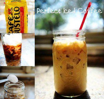 Perfect Iced Coffee | Recipingo.com | Pinterest