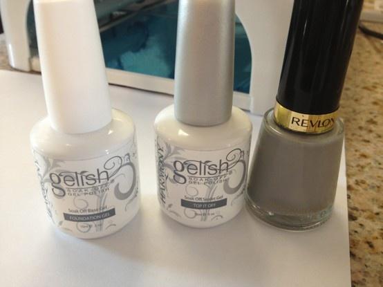 Gel Manicure with Regular Nail Polish | Nails | Pinterest