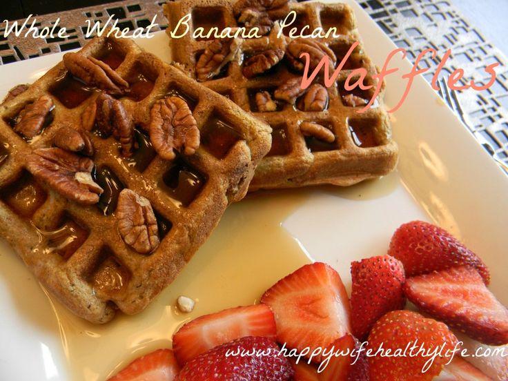 Pecan Wheat Pancakes With Maple Bourbon Strawberries Recipes ...