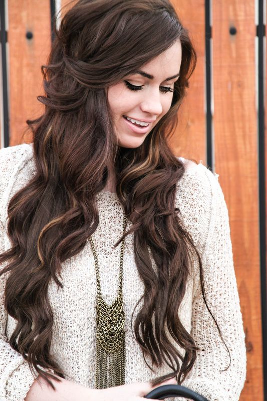 Bellami Hair Extensionsmochachino Brown Hair And Makeup Of