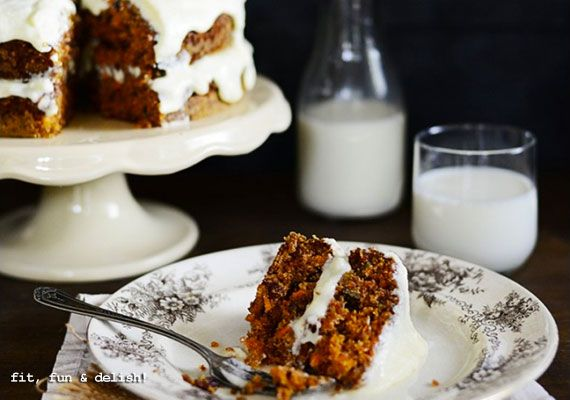 Carrot Cake with Mascarpone Frosting - Recipe - The Answer is Cake