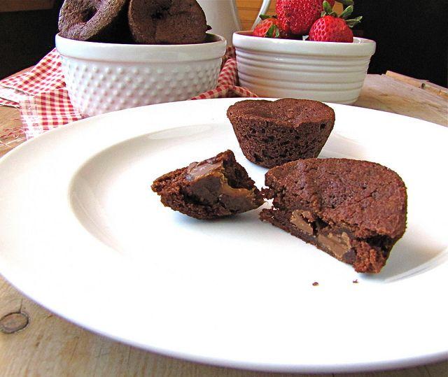 Rolo Brownie Bites | Recipe Ideas | Pinterest