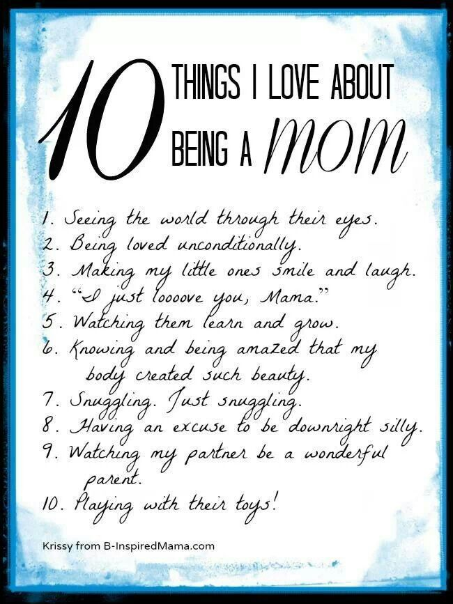 10 things i love about being a mom house rules pinterest
