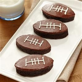 Touchdown Brownies | Recipe