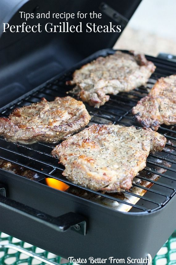How to Grill Ribeye Steaks! Tips and a recipe for fool-proof grilling ...