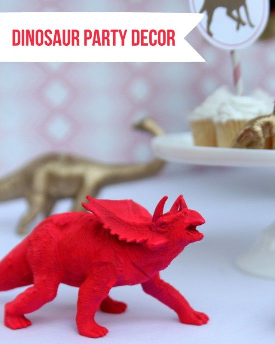 Dinosaur decorations for girls party time theme and for Dinosaur decor