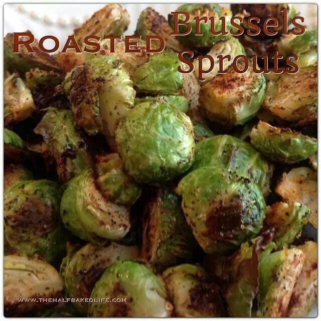 Roasted sprouts | Side Dishes | Pinterest