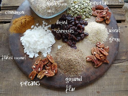 cherry pecan maple granola   Fitness/Wellness (recipes)   Pinterest