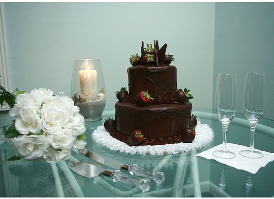 Publix extreme chocolate cake for our wedding cake. Photography ...