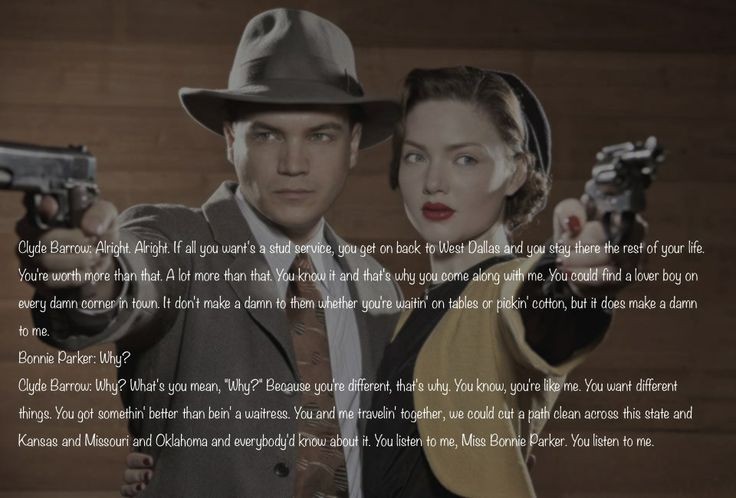 relationship like bonnie and clyde quotes love