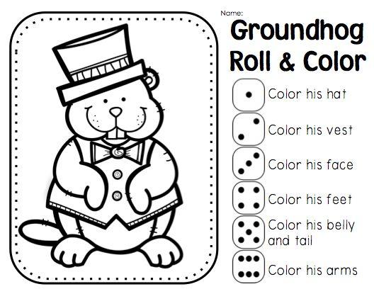 first grade groundhog day | Holidays | Pinterest