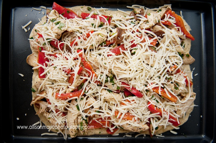 Chicken and Shiitake Mushroom Pizza | Recipes to Try - Main Dish | Pi ...