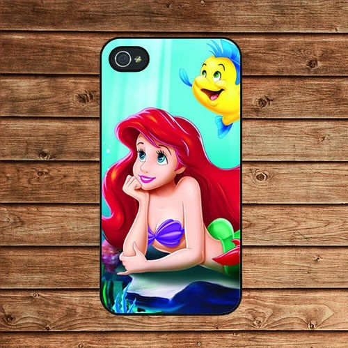 Ariel and Flounder iPhone4s case