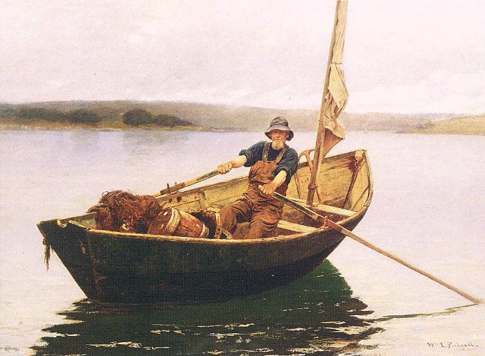 Image result for man in a boat