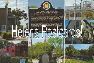 Helena, Alabama postcards available from Smith Family Resources ~ Buy postcards to mail to your friends or buy them to resell in your shop or business!