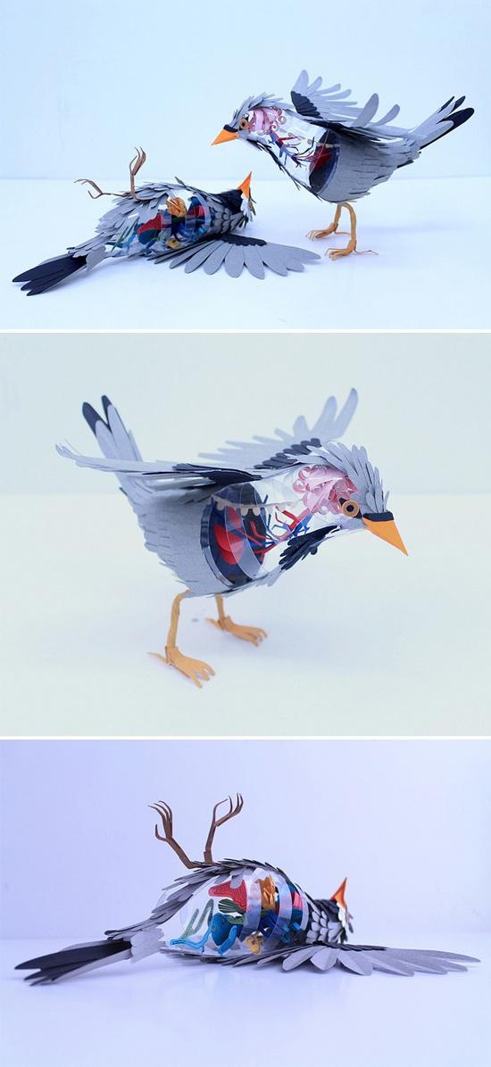 Paper Birds by Diana Beltran