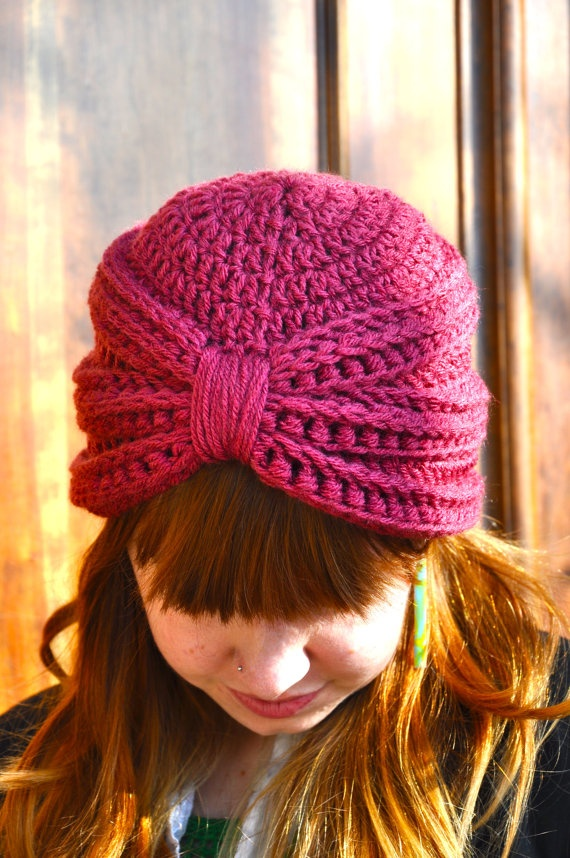 CROCHET PATTERN for The Crochet Turban
