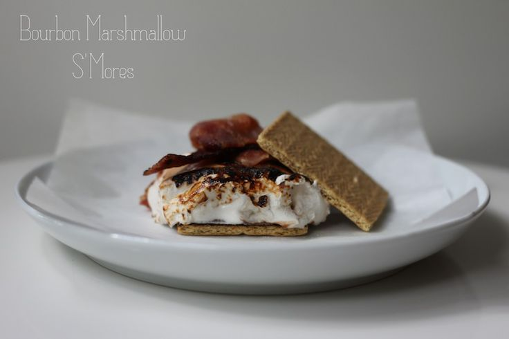 Bourbon Marshmallow & Bacon S'Mores | In The Kitchen | Pinterest