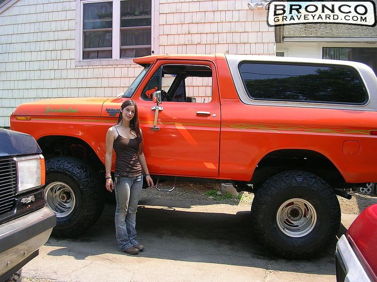 78 ford orange bronco | Jeff's Bronco Graveyard - Reader's ...