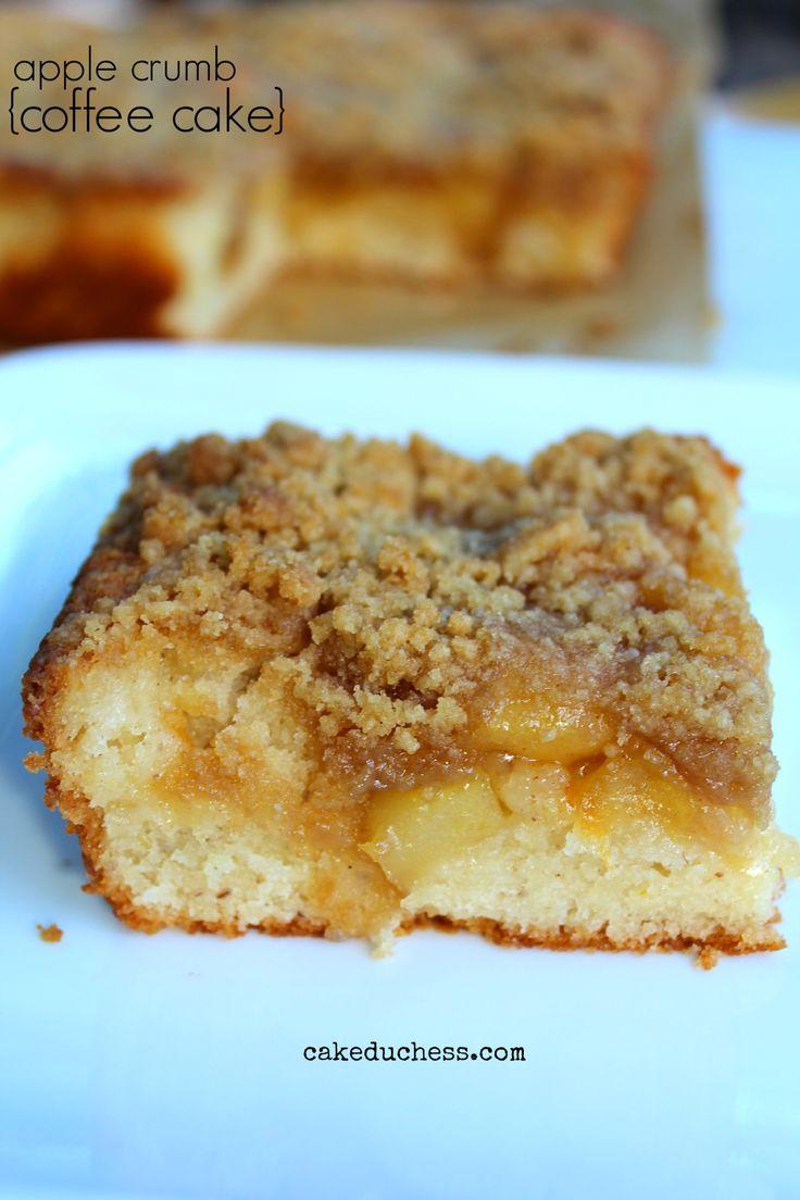 apple crumb coffee cake| cakeduchess | Yummy | Pinterest