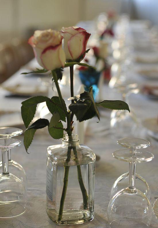 ... pas saboter la déco des tables à ton mariage  Mademoiselle Dentelle