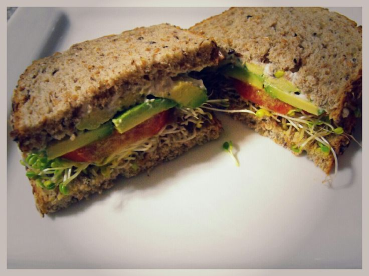 club sandwich avocado and sprout club sandwich recipe yummly avocado ...