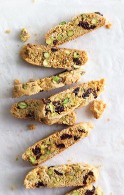 Pistachio and Dried-Cherry Biscotti | Recipe