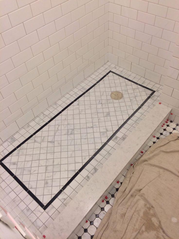 Grouted Shower Floor Silverado Grout Porterhouse