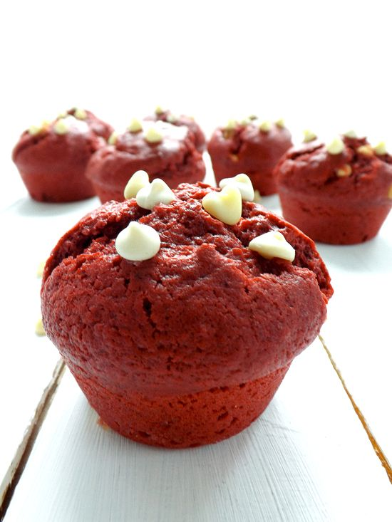 Red velvet muffins {recipe} | Food-Yum | Pinterest