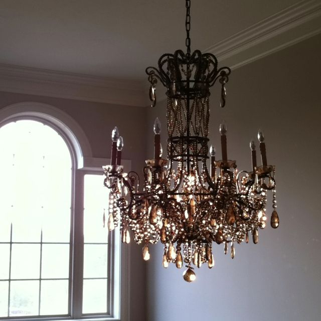 Foyer chandelier crap we picked for the house pinterest for Unique foyer chandeliers