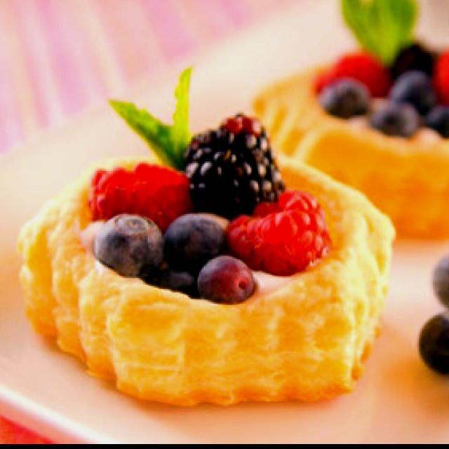 Fruit Tart Custard | dolcetti | Pinterest