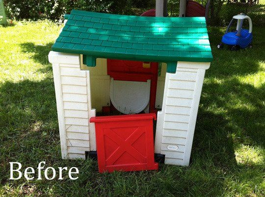 Outdoor little tikes playhouse craigslist bing images for Little tikes house