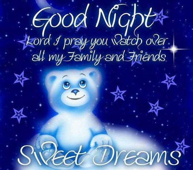 Goodnight sweet dreams  Goodnight~Sleep tight  Pinterest