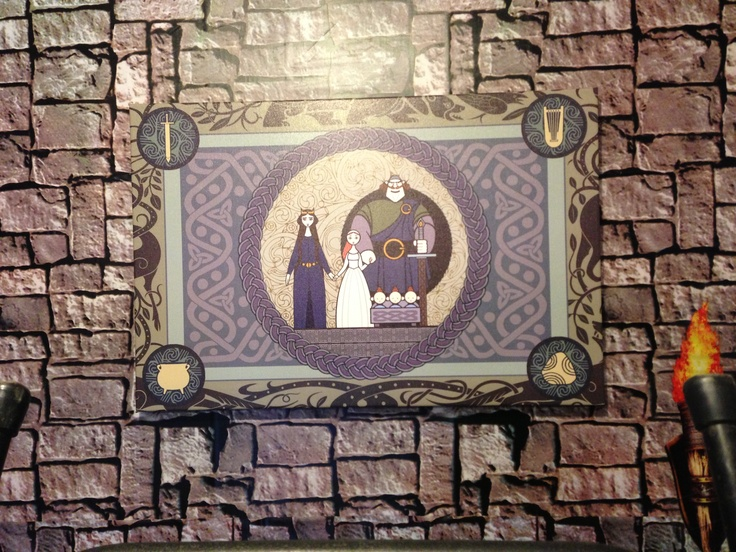 Pin by enchanted entertainement on merida party pinterest for Space themed tapestry
