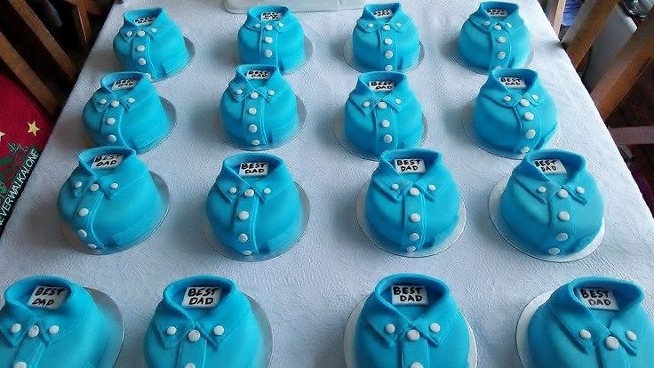 father's day mini cakes