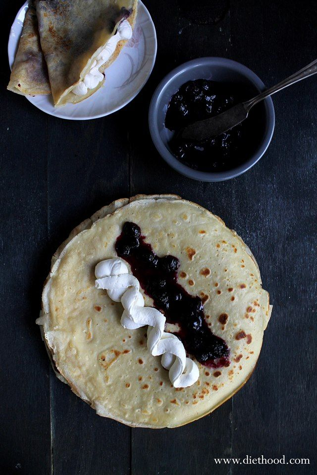 Cornmeal Cake With Blueberries And Maple Whipped Cream ...