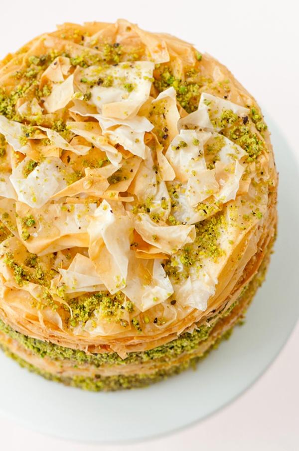 PISTACHIO BAKLAVA CAKE | Desserts | Pinterest