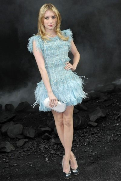 Celebs flock to Chanel show