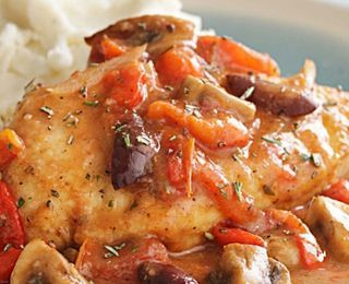 Quick Chicken Cacciatore   Diabetic Friendly & Delicious too! Yummmmm ...