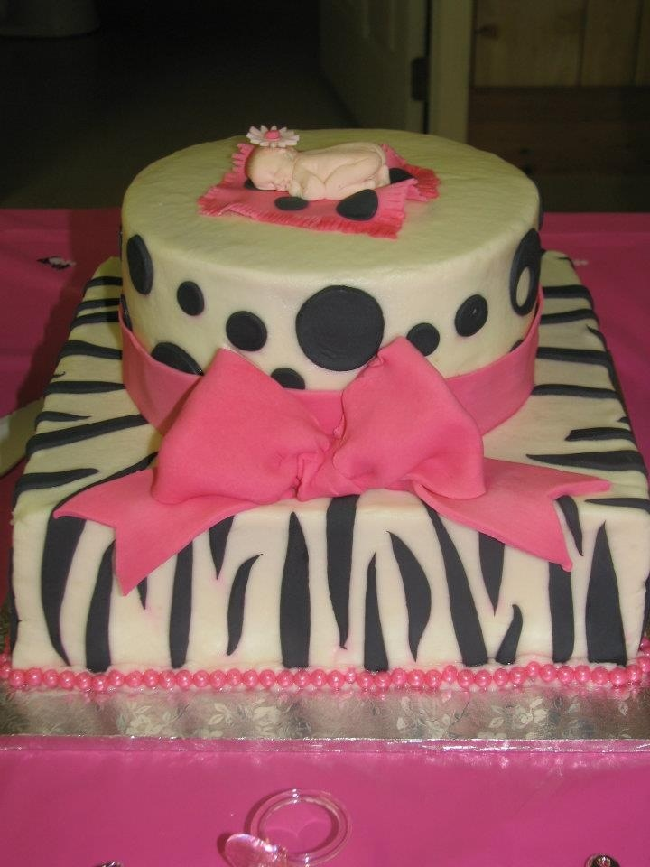 zebra print baby shower cakes zebra print baby shower cake