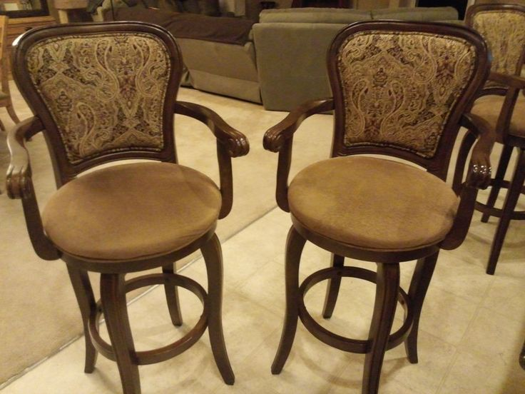 high end swivel bar stools with arms regal