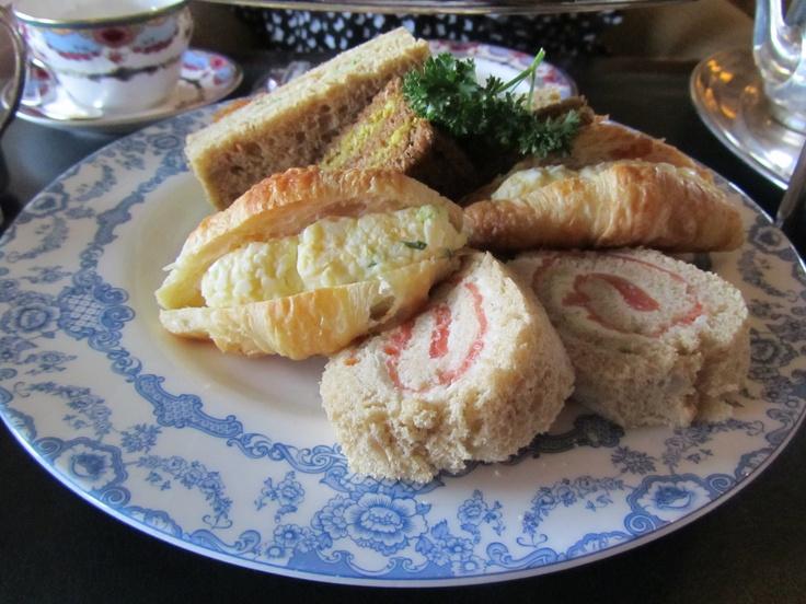Victoria, British Columbia. Smoked Salmon Pinwheel, Mango and Curried ...