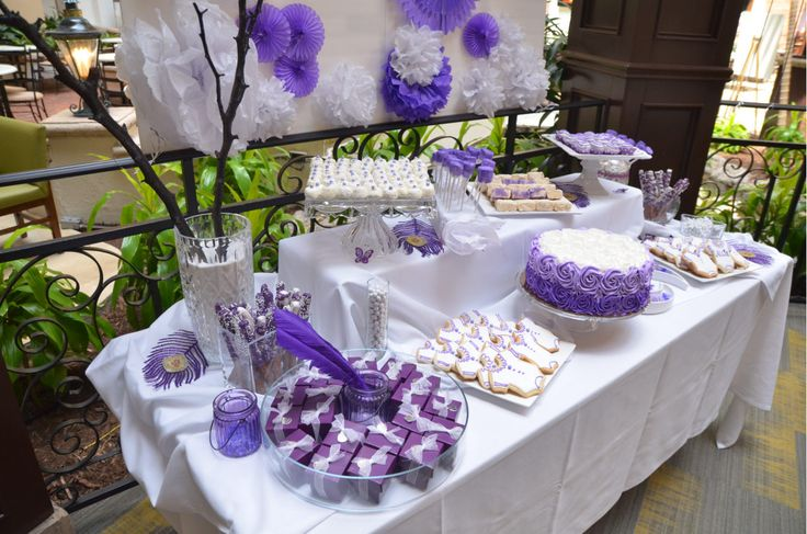 purple and white baby shower baby shower ideas pinterest