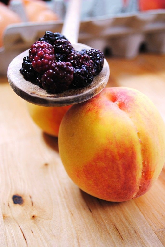 Blackberry Peach Ice Cream - Sweet Life | I like to Eat | Pinterest