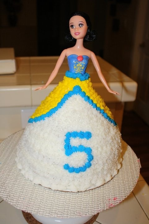 Image Snow White Doll Cake Download